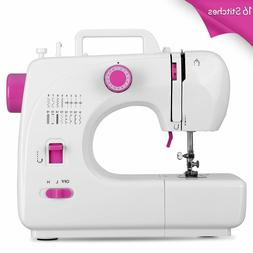 Sewing Machine Portable with 16 Stitches 2 Speed Heavy Duty