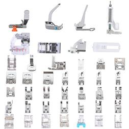 Sewing Machine Presser Feet Set 42 Pcs for Brother, Babylock