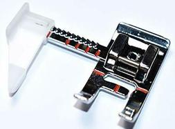 Sewing Machine Presser Foot with Adjustable Guide. Fits Low