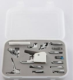 Embroidex 15 pc Sewing Machine Presser/Walking Feet Kit for