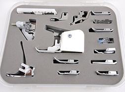 15 pcs Sewing Machine Presser /Walking Feet Kit - Suitable W