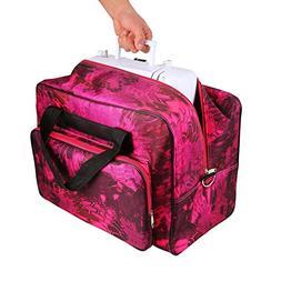 Utheing Sewing Machine Tote Bag Waterproof Lightweight Porta