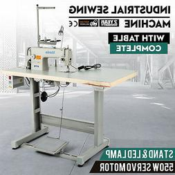 Sewing Machine with Table +Servo Motor +Stand &LED Lamp  Ass