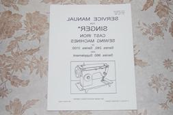 Singer Sewing Machines 3101 3102 3103 3105 2404 2405 Service