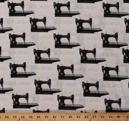 Sewing with Singer Antique Sewing Machines Cotton Fabric Pri
