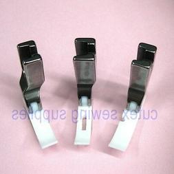 CUTEX SEWING High Shank Teflon Narrow Zipper Foot Set - Cent