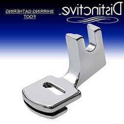 Distinctive Shirring Gathering Sewing Machine Presser Foot -