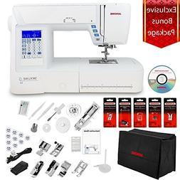 Janome Skyline S3 Computerized Sewing Machine w/Semi-Hard Co