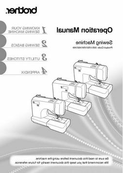 Brother SQ9185 Sewing Machine Owners Instruction Manual FREE