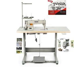 Sister SR-8700 Sewing Machine,Table Juki DDL 8700 cut+Servo