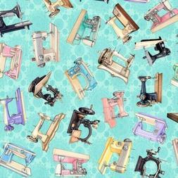 Tailor Made Sewing Machines Vintage Machine Light Aqua Cotto