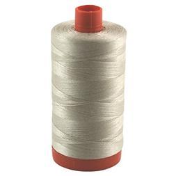 Aurifil Thread 2312 ERMINE  Cotton Mako 50wt Large Spool 130