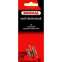 Transparent Buttonhole Foot #202082008 For Janome 9mm Max St