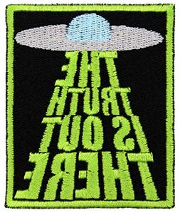 The Truth is Out There Alien Conspiracy Iron On Patch Appliq