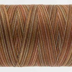 WonderFil Specialty Threads Tutti, Clay, 50wt double gassed
