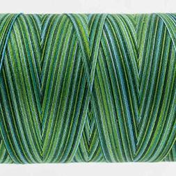 WonderFil Specialty Threads Tutti, Evergreen, 50wt double ga