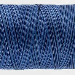 WonderFil Specialty Threads Tutti, Blue Night, 50wt double g