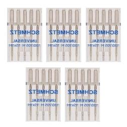Universal Machine Needles-Size 8/60 5/Pkg