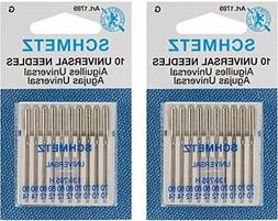 Euro-Notions Universal Machine Needles, 10-Pack
