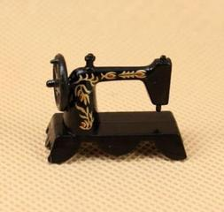 EatingBiting(R)Vintage Sewing Machine Dollhouse Miniatur