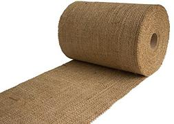 "Burlapper 9"" x 30 Yards Jute Burlap Ribbon Roll"